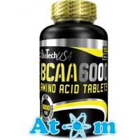 BioTech – BCAA 6000 – 100 таб