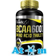 BCAA BioTech BCAA 6000 100 таб