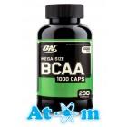 Optimum Nutrition - BCAA 1000 - 200 капс