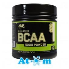 Амінокислоти Optimum Nutrition BCAA 5000 Powder - 345 г