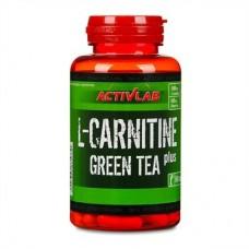 L-карнітін Activlab L-Carnitine Plus Green Tea 60 капс