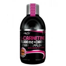 L-карнітін BioTech L-Carnitine 70000 liquid + Chrome 500 мл