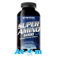 Dymatize Nutrition - Super Amino 6000 - 345 табл