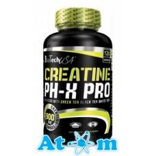 Креатин BioTech Creatine PH-X Pro 120 капс