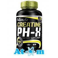 BioTech - Creatine pH-X - 90 капс