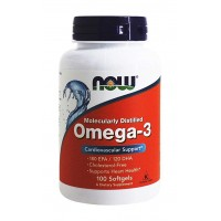 NOW Omega-3 - 100 softgels