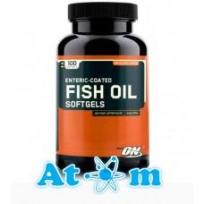 Жирні кислоти Optimum Nutrition Fish Oil Softgels 100 капс
