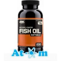 Optimum Nutrition - Fish Oil Softgels - 200 капс