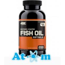 Жирні кислоти Optimum Nutrition Fish Oil Softgels 200 капс