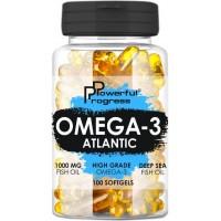 Powerful Progress - Atlantic Omega-3 - 90 капс