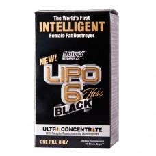 Жироспалювач Nutrex Lipo-6 Black Hers Ultra Concentrate 60 капс