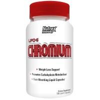 Nutrex – Lipo-6 Chronium – 100 капс