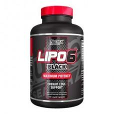 Жироспалювач Nutrex Lipo-6 Black - 120 капс