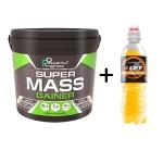 Super Mass Gainer - Powerful Progress 4 кг +  Ізотонік в подарунок