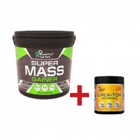 Super Mass Gainer - Powerful Progress 4 кг + креатин в подарунок