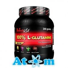 Глютамін BioTech 100% L-Glutamine 240 гр