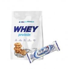 Протеїн ALL NUTRITION WHEY PROTEIN - 908 g + батончик MilkyWay