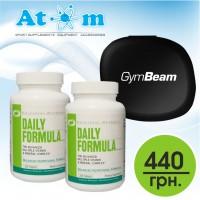 Вітаміни UN Daily Formula - 100 табл/2шт + таблетниця