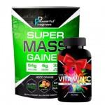 Super Mass Gainer - Powerful Progress 4 кг + Vitamin C в подарок
