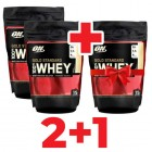 Акція 2+1 Optimum Nutrition - 100% Whey Gold Standard - 450 г/2шт