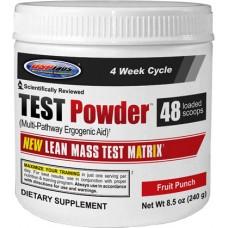 Бустер тестостерона USPlabs TEST Powder 240 грам