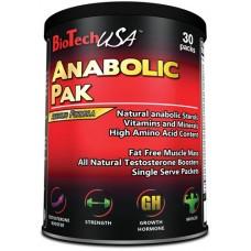 Бустер тестостерона BioTech USA Anabolic Pak 30 пак