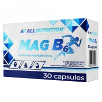 Allnutrition Mg B6 - 30 капс