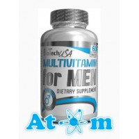 BioTech - Multivitamin for Men - 60 табл
