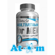 Вітаміни BioTech Multivitamin for Men - 60 табл