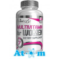 BioTech - Women Multivitamin - 60 табл