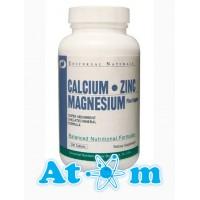 Universal Nutrition - Calcium Zinc Magnesium - 100 табл