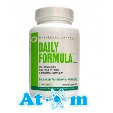 Вітаміни Universal Nutrition Daily Formula 100 табл