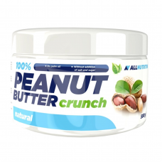Арахісова паста Allnutrition 100% Peanut Butter - 500 г (Crunch)