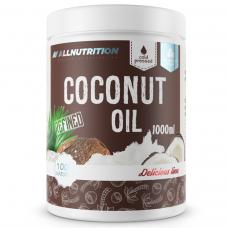Кокосове масло (Рафіноване) Allnutrition Delicious Line Coconut Oil Refined - 1000 мл