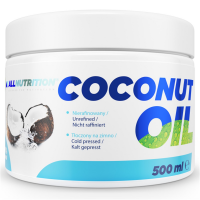 AllNutrition Coconut Oil Unrefined - 500 мл (Нерафіноване)