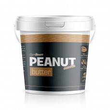 Арахісове масло GymBeam Peanut butter 100% natural - 1000g (smooth, crunchy)