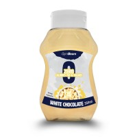 GymBeam - White Chocolate Syrup - 350 мл