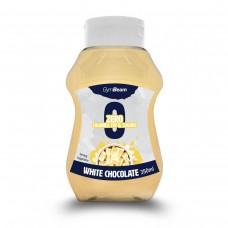 Сироп GymBeam - White Chocolate Syrup - 350 мл