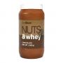 Арахісова паста з протеїном GymBeam Nuts&Whey - 1000 г