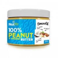 Nutvit 100% Peanut + Coconut Butter - 500 g
