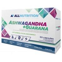 Allnutrition Ashwagandha 300mg + Guarana - 30 капс
