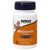 Now Foods - Melatonin 3 mg - 60 капс