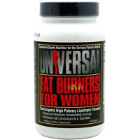 Universal Nutrition - FAT Burners For Women - 120 табл